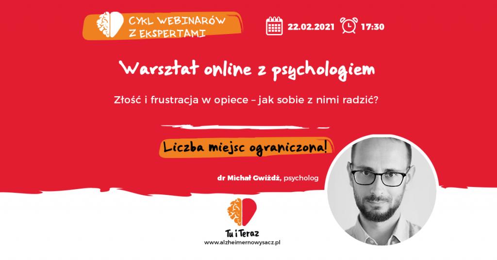 warsztaty dr Michał Gwiżdż